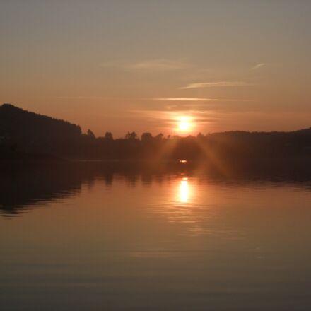 sun, setting, sunset, Fujifilm FinePix F100fd