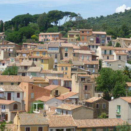 houses, village, mediterranean, Panasonic DMC-FS10
