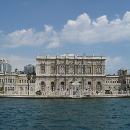 dolmabah e palace, turkey, Panasonic DMC-LZ7