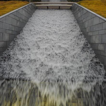 water, waterfall, Nikon COOLPIX S3700