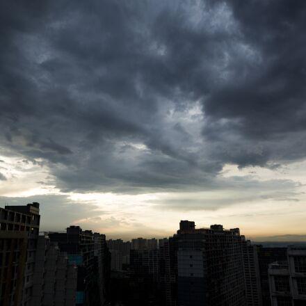 sky, cloud, dark clouds, Canon EOS 5D MARK III