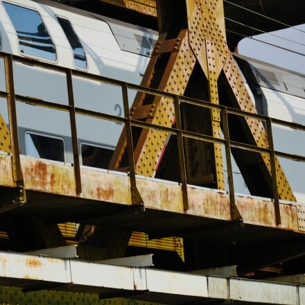 bridge, train, travel, Panasonic DMC-GH4