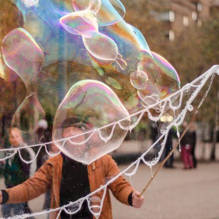 bubble, entertainment, fair, london, Nikon D7000