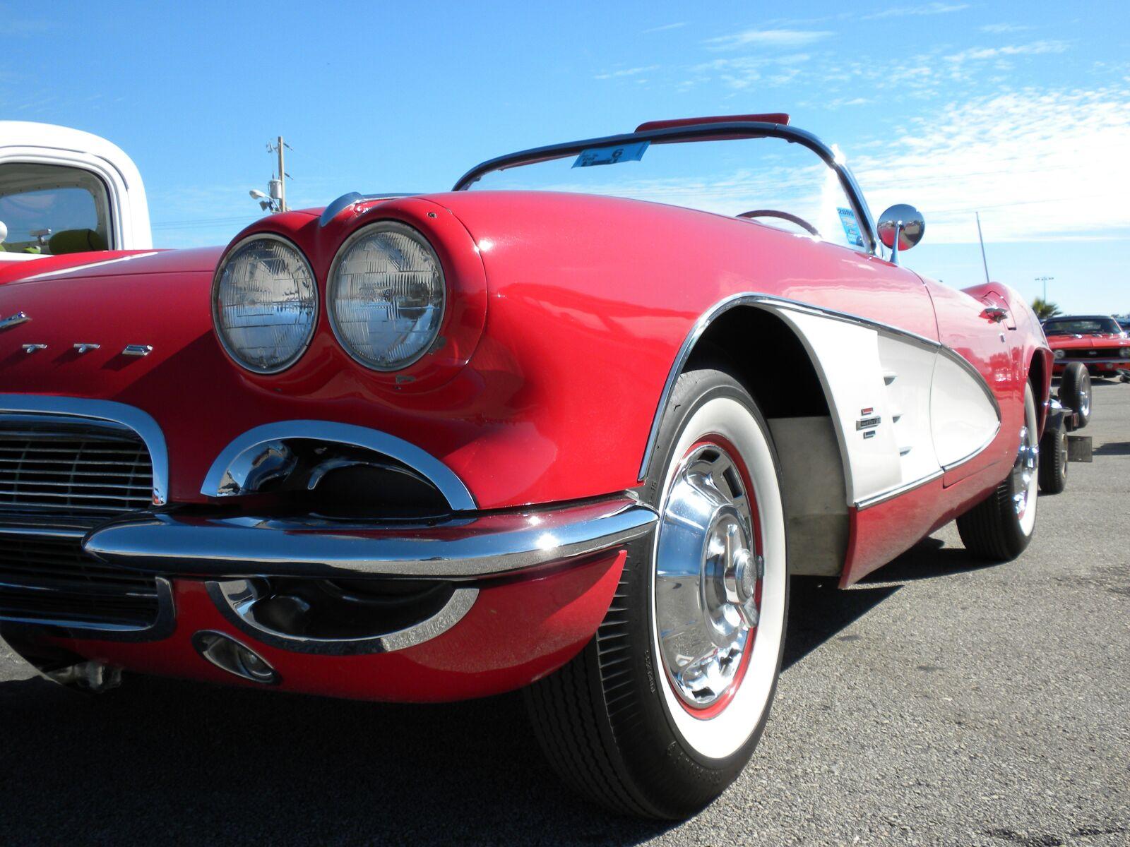red, corvette, chevrolet