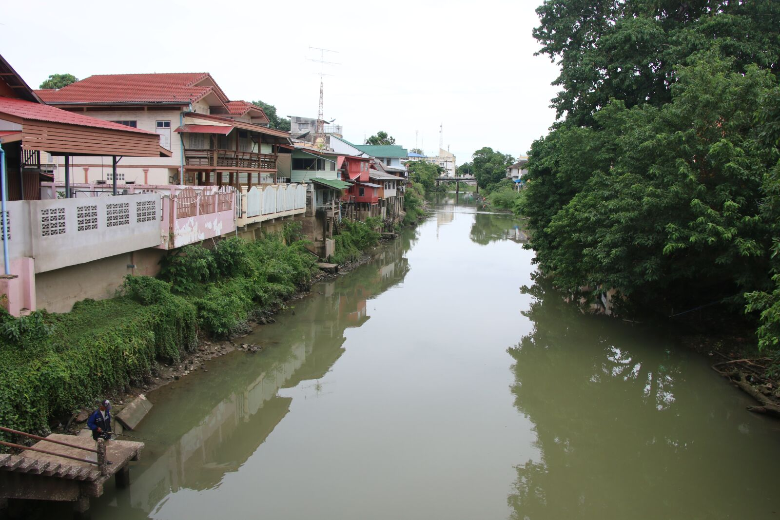 "Canon EOS 70D sample photo. ""River, petchaburi, thailand"" photography"