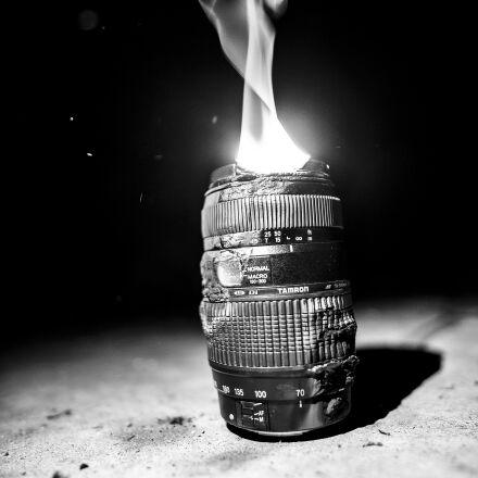 burn, camera, lens, macro, Nikon D750