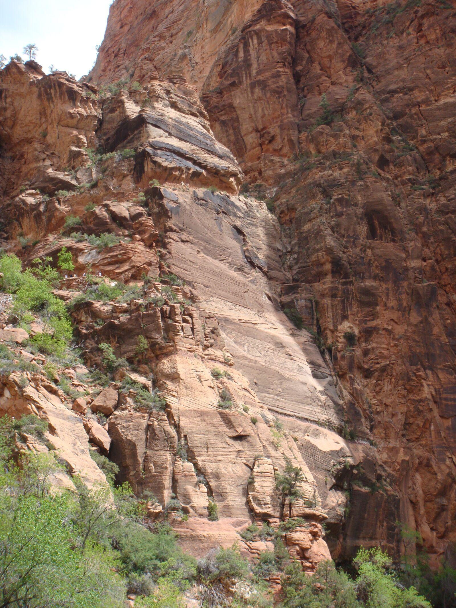 "Sony DSC-T300 sample photo. ""Zion national park, utah"" photography"