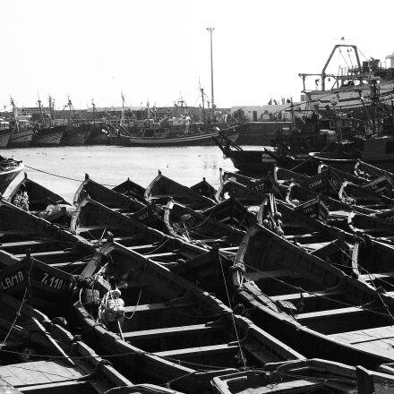 morocco, port, boats, Panasonic DMC-FS35