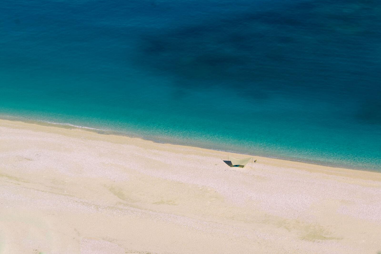 "Nikon D3100 sample photo. ""Azure, bay, beach, blue"" photography"