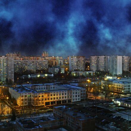 solntsevo, moscow, night, Panasonic DMC-TZ30