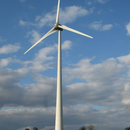 wind turbine, renewable energy, Canon POWERSHOT S80