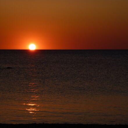 sunrise, nature, sun, Panasonic DMC-FS62