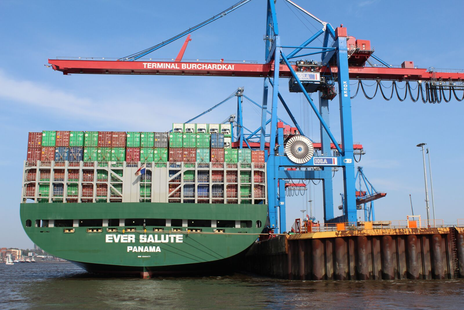 """Canon EOS 600D (Rebel EOS T3i / EOS Kiss X5) sample photo. """"Harbour, hamburg, container"""" photography"""