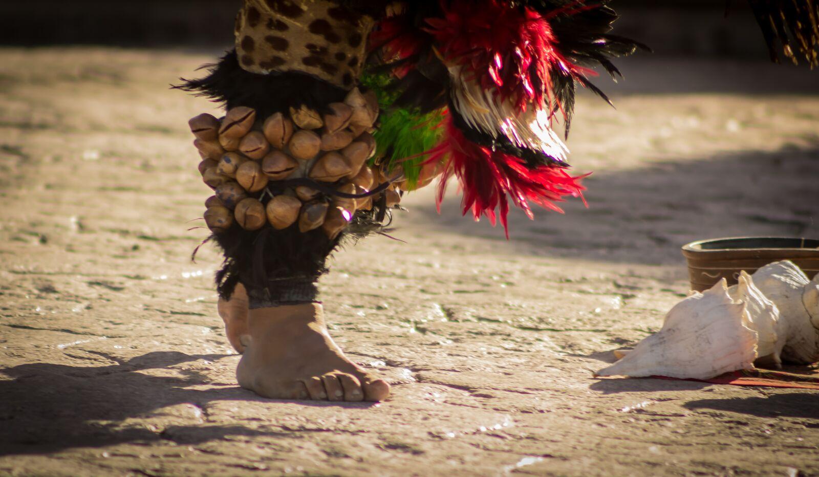 "Canon EOS 600D (Rebel EOS T3i / EOS Kiss X5) sample photo. ""Foot, cascavel, aztec"" photography"