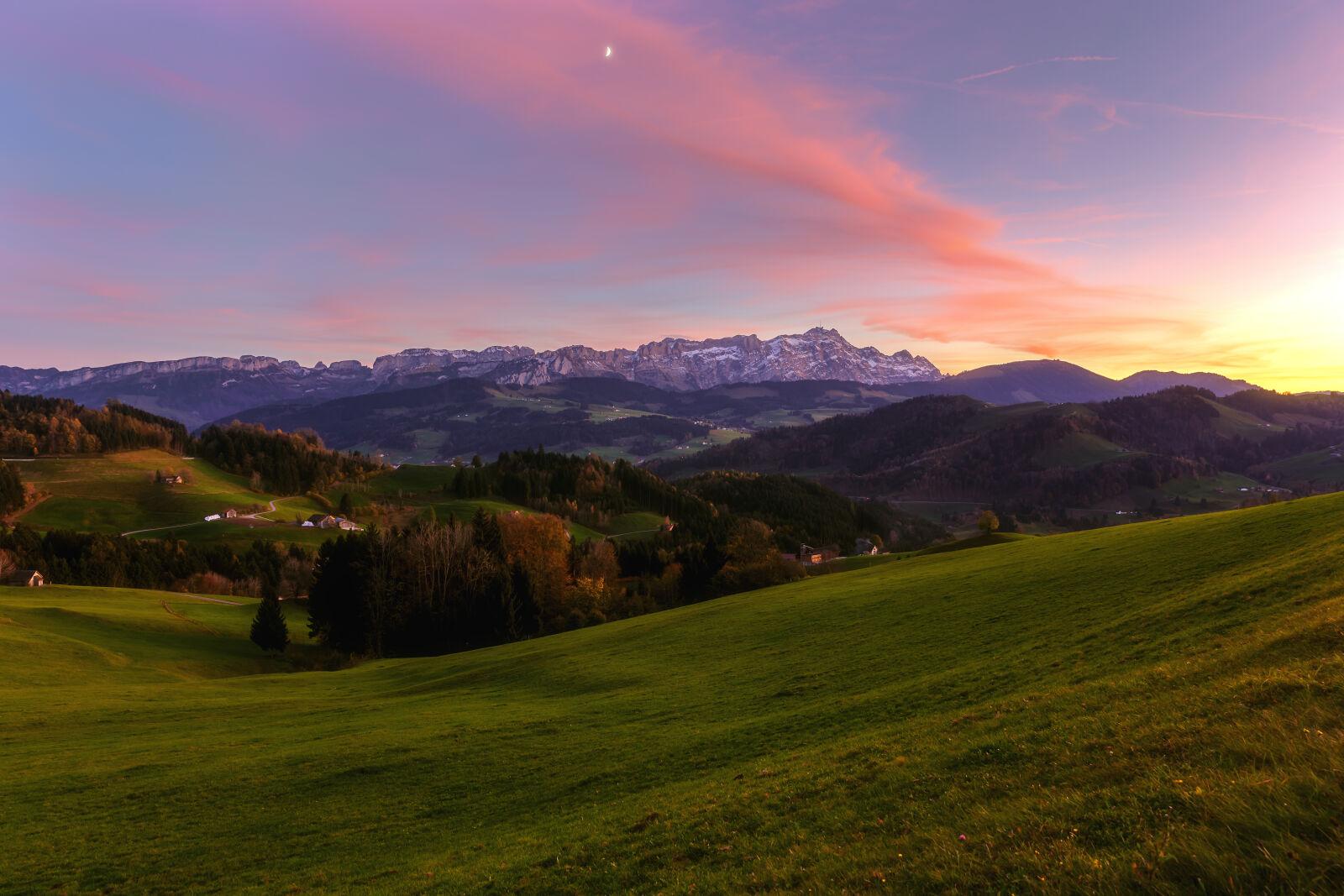 "Canon EOS 6D sample photo. ""Autumn, autumn, colours, blue"" photography"