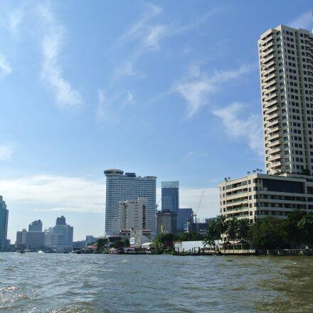 bangkok, river, thailand, Nikon 1 J1