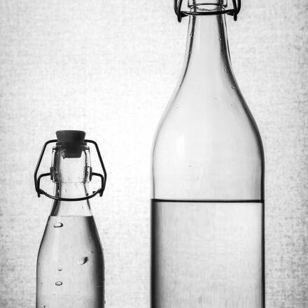 water bottle, water, bottle, Sony ILCE-7SM2