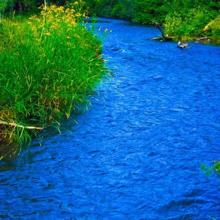 mountain, river, landscape, Canon EOS 50D