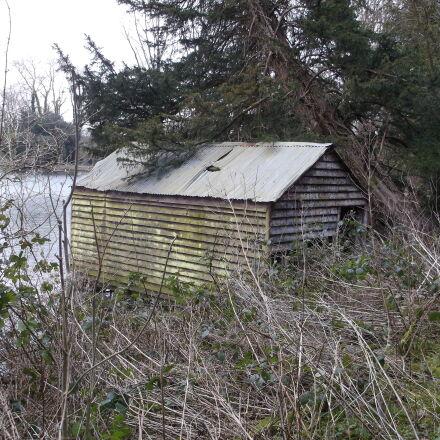 cold, countryside, lake, lake, Fujifilm FinePix AX550
