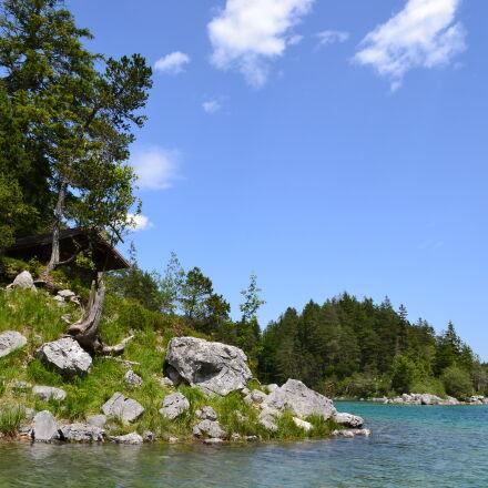 alps, idyllic, lake, nature, Nikon D3100