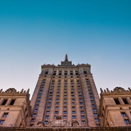 architecture, blue, sky, building, Nikon D3200