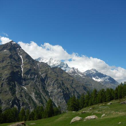 mountain, switzerland, superb view, Nikon COOLPIX S100
