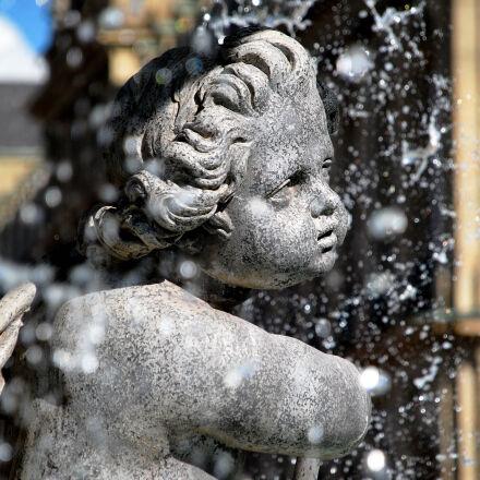 fountain, sculpture, theme, i, Nikon D40X