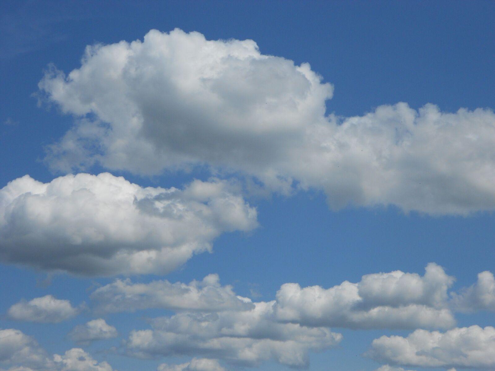 "Nikon COOLPIX S4150 sample photo. ""Clouds, blue sky, cloud"" photography"