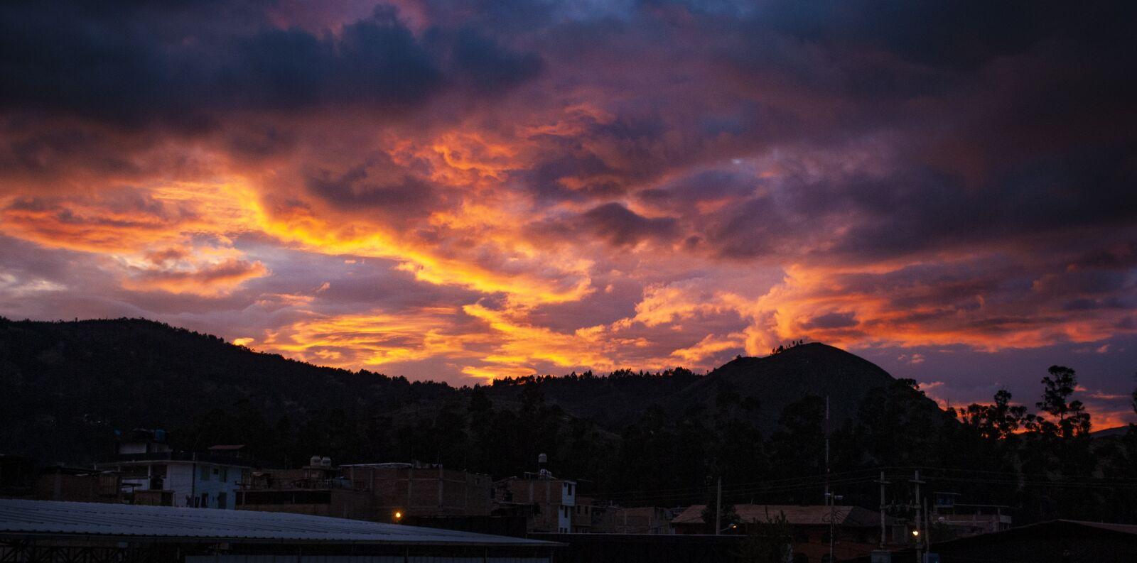 "Nikon D3000 sample photo. ""Sunset, sun, summer"" photography"