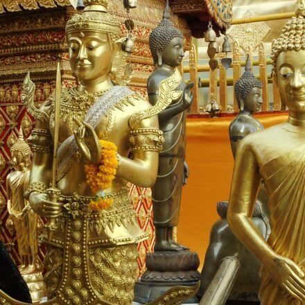 thailand, temple, buddha, Fujifilm FinePix F70EXR