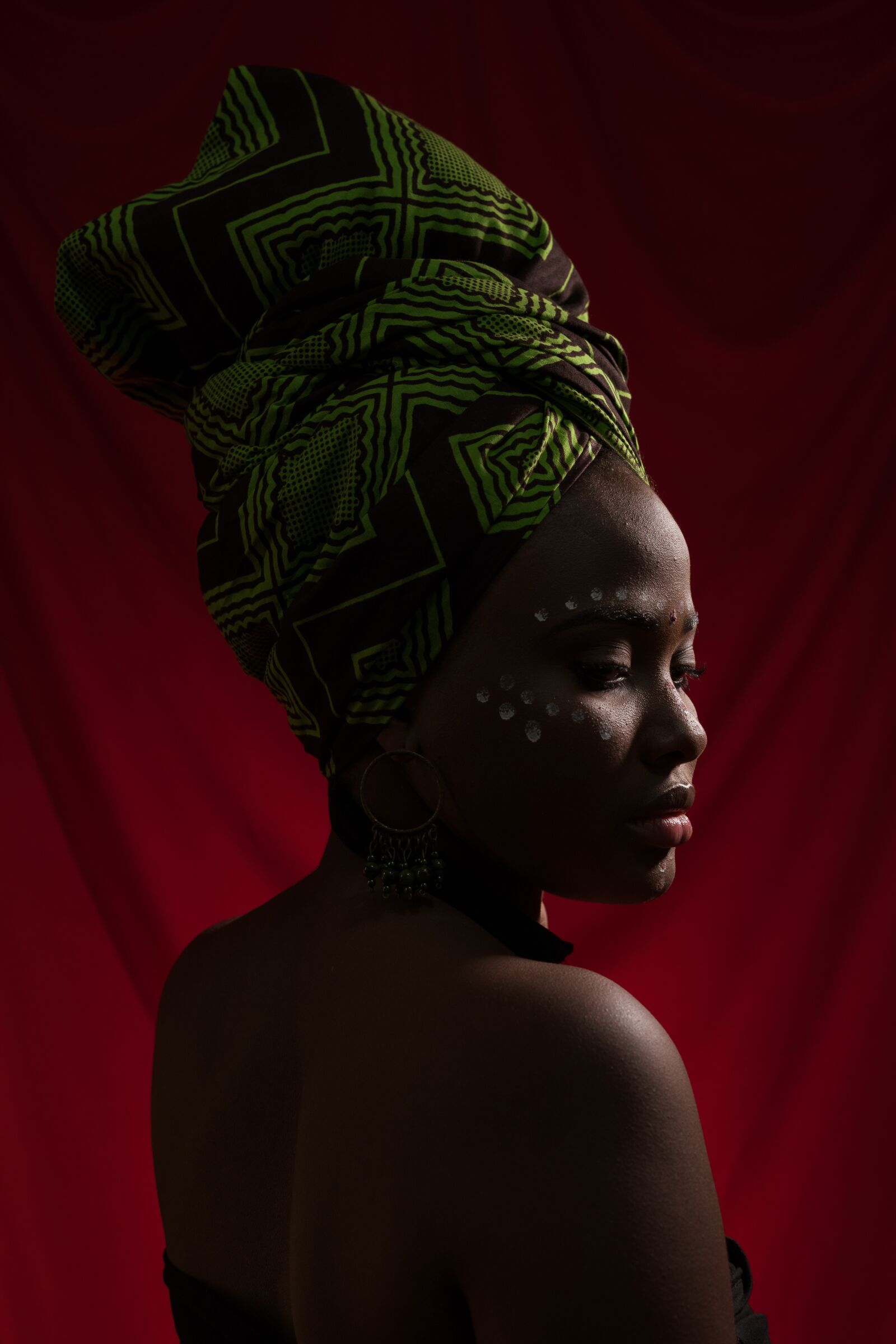 """Sony a6300 sample photo. """"African, afro, turban"""" photography"""