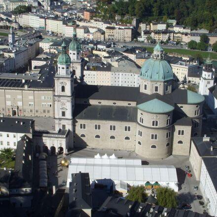 salzburg, view, city, Samsung Digimax L85