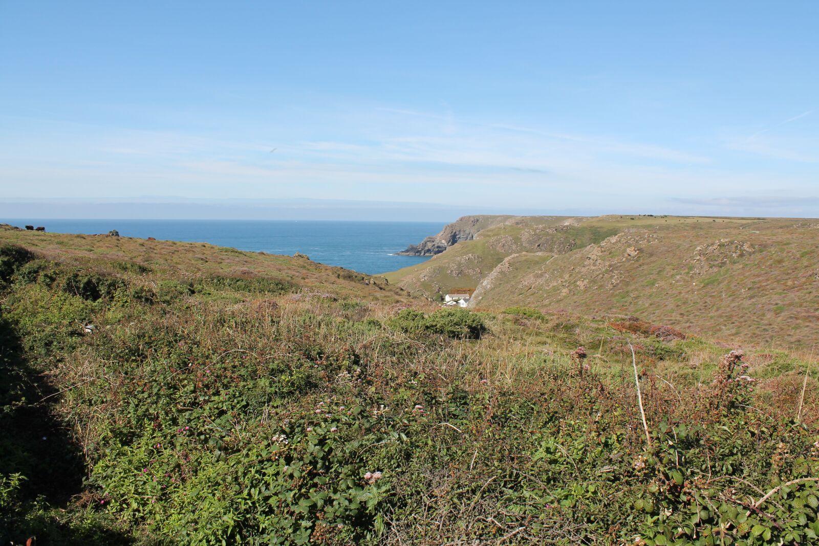 "Canon EOS 1100D (EOS Rebel T3 / EOS Kiss X50) sample photo. ""Cornwall, seaside, tourist"" photography"
