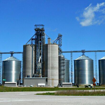 silos, grain, storage, Nikon COOLPIX S3700