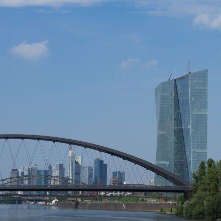 frankfurt, bridge, main, Olympus E-M1