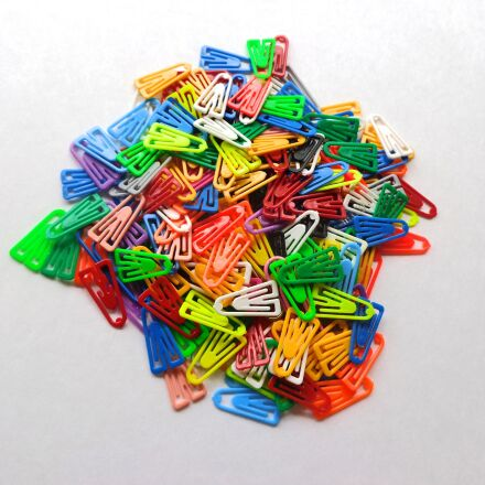 clips, colorful, office supplies, Sony DSC-W730