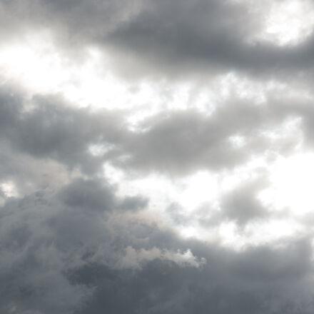 bewolkter, himmel, Nikon D800