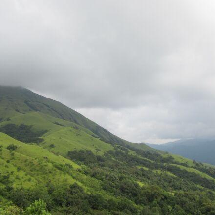 mountains, karnataka, kumara, Canon POWERSHOT A1200