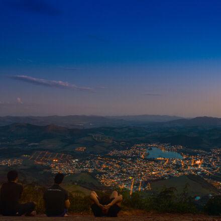 brazil, city, city, lights, Nikon D3200
