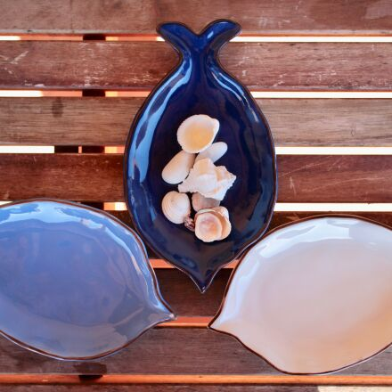 shells, fish, blue, Canon EOS M