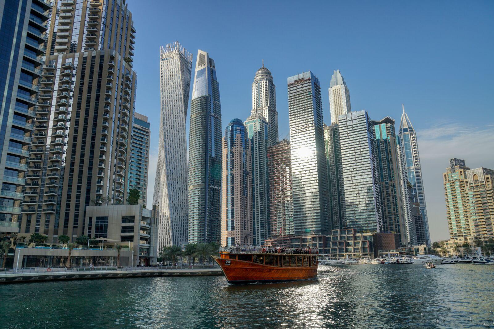 """Sony a6500 sample photo. """"Dubai, skyline, city"""" photography"""