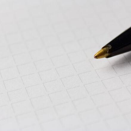 pen, paper, karos, Canon EOS 1300D