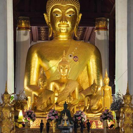 art, Buddha, Buddhism, gold, Sony ILCE-6400