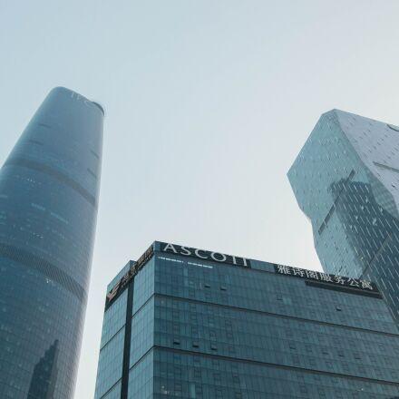 tall buildings, business, building, Pentax K-5 II S
