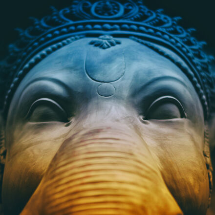 elephant, sculpture, Nikon D5200