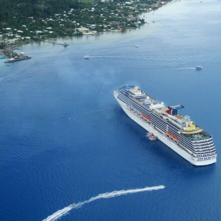 cruise, aerial, ship, Sony DSC-HX1