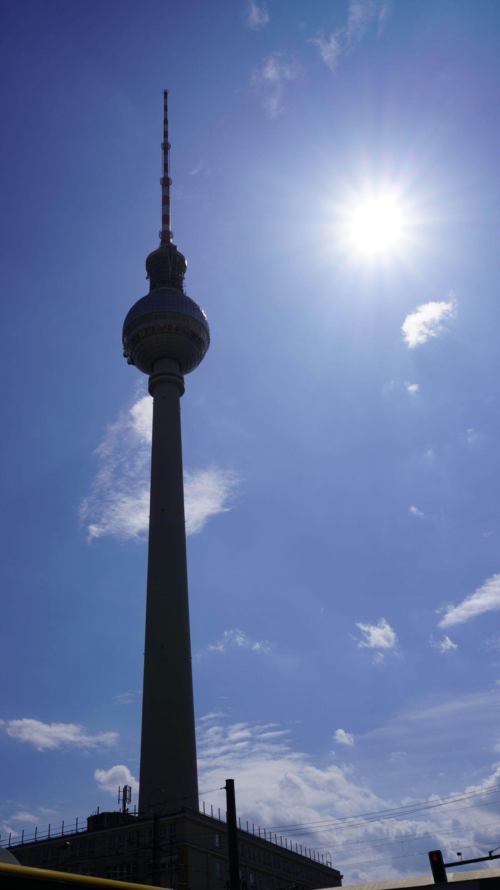 "Sony a6400 sample photo. ""Berlin, sun, city"" photography"