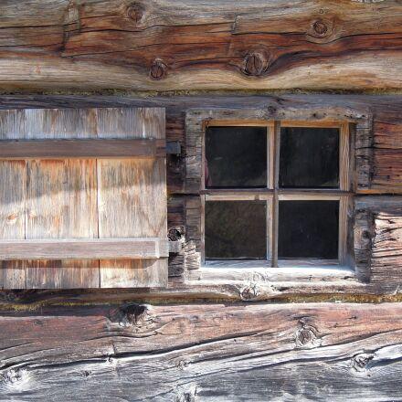 window, wooden windows, old, Nikon COOLPIX P300