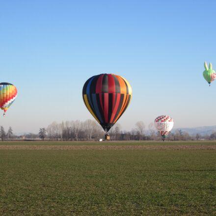 hot air balloons, festivalmongolfiere, Canon IXUS 107