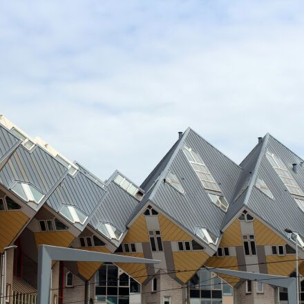 cube house, cube-shaped, architecture, Canon EOS 600D